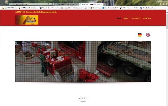 New English Homepage
